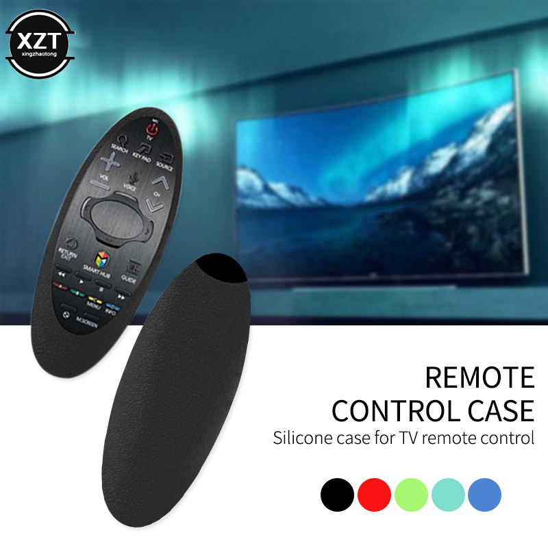Оригинальный Мягкий силиконовый чехол для пульта дистанционного управления Samsung Smart TV, защитный чехол для пульта дистанционного управления Samsung TV|Специальные чехлы| | АлиЭкспресс