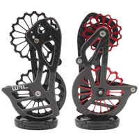 Bicycle Carbon Fiber Ceramic Rear Derailleur 17T Pulley Guide Wheel for Shimano 6800 R7000 R8000 R8050 R9000 Bicycle Accessories
