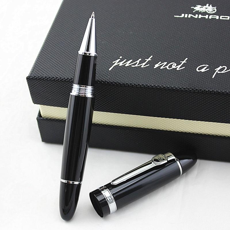 High Quality Luxury JINHAO 159 Roller Ball Pen Metal 0.7MM Medium Nib Ink Pens Business School Office Supplies Canetas