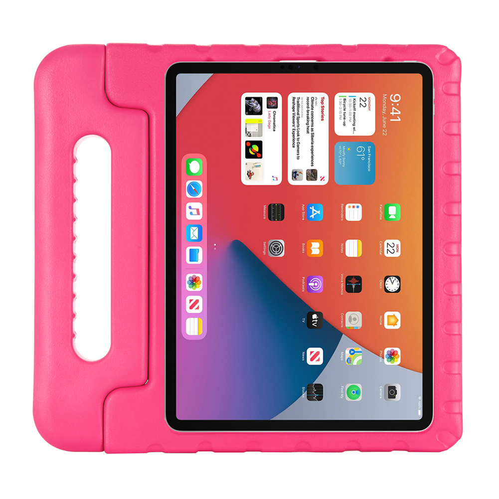 Rose White For iPad Air 4 10 9 Inch 2020 Tablet Case Children Shockproof Stand Protective Cover for