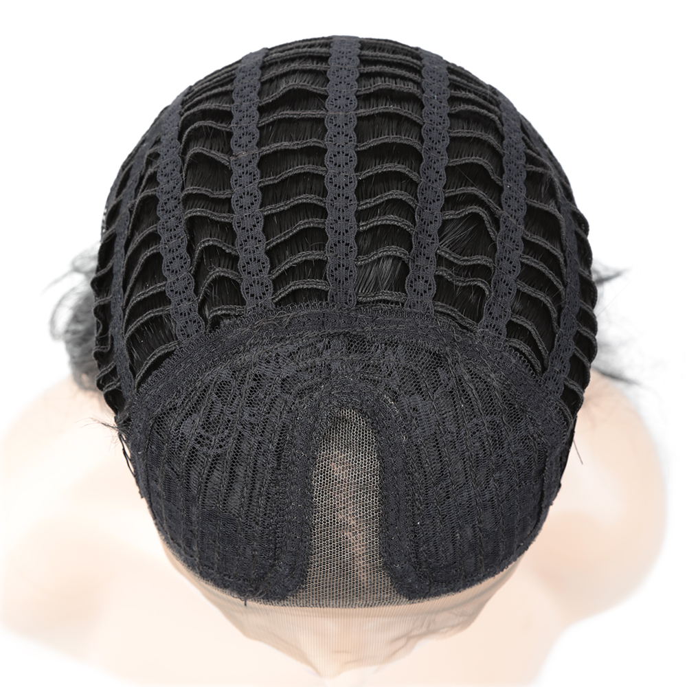 20 polegada peruca dianteira do laço sintético