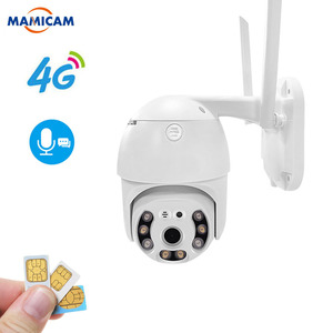 Wireless 3G 4G SIM Card Camera Outdoor PTZ WIFI Waterproof 1080P Security CCTV Camera P2P IR Night Vision 30M 2.5inch