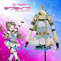 Anime LoveLive! Minami Kotori Cospaly Costumes Crayons/Painters Awakening Uniform Dress XS XXL In Stock Or Custom Make Any Size