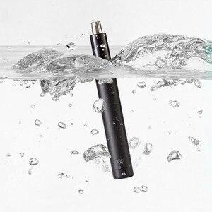 Image 4 - Original Youpin Elektrische Mini Nase Haar Trimmer HN1 Tragbare Ohr Nase Haar Rasierer Clipper Wasserdichte Sicheren Reiniger Werkzeug