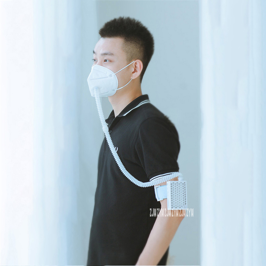 FB1 Convenient Portable Air Purifier Intelligent 3 Gear Wearable Air-Cleaner Mask Electric Anti - Haze Dustproof PM2.5 Mask 3.7V
