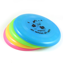 Plastic Dog Toys Flying Discs for Outdoor Training Puppy Frisby Fetch Toy Tooth Resistant Trainer Pet Product