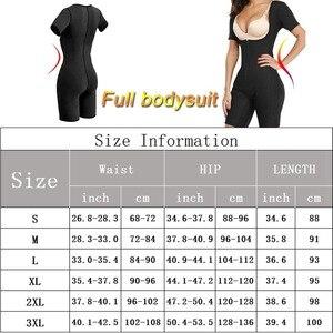 Image 5 - Womens Full Body Shaper Modeling Strap S 3XL Plus Size Neoprene Tank Top Sweat Sauna Suit Elastic Slim Vest Shapewear Bodysuits