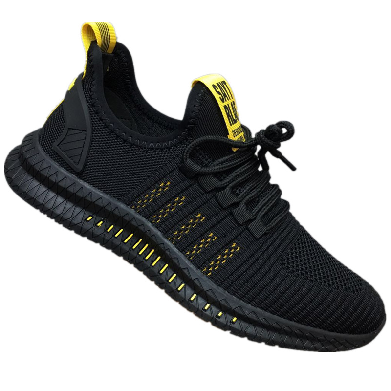 2019 New Mesh Men Sneakers Casual Fashion Shoes Lac-up Men Shoes Lightweight  Shoes Walking Sneakers
