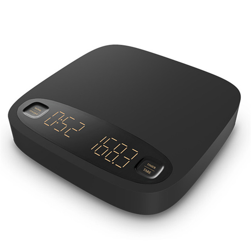 Coffee Scale Smart Digital  Scale   Pour Coffee Electronic Drip Coffee Scale with Timer 2kg /0.1g весы кухонные