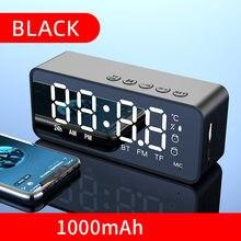 Altavoz inalámbrico con Bluetooth, minidespertador portátil con Cannon, sistema de Audio Vehicular, transmisión por voz, tarjeta