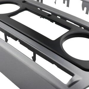 Image 2 - 2 Din Radio Fascia for Skoda Octavia Audio Stereo Panel Mounting Installation Dash Kit Trim Frame Adapter