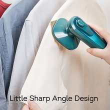 Mini Electric Dry Iron Machine With Spray Water Portable Fast Heat Clothes Handheld Garment Steamer For Home Dormitory Travel