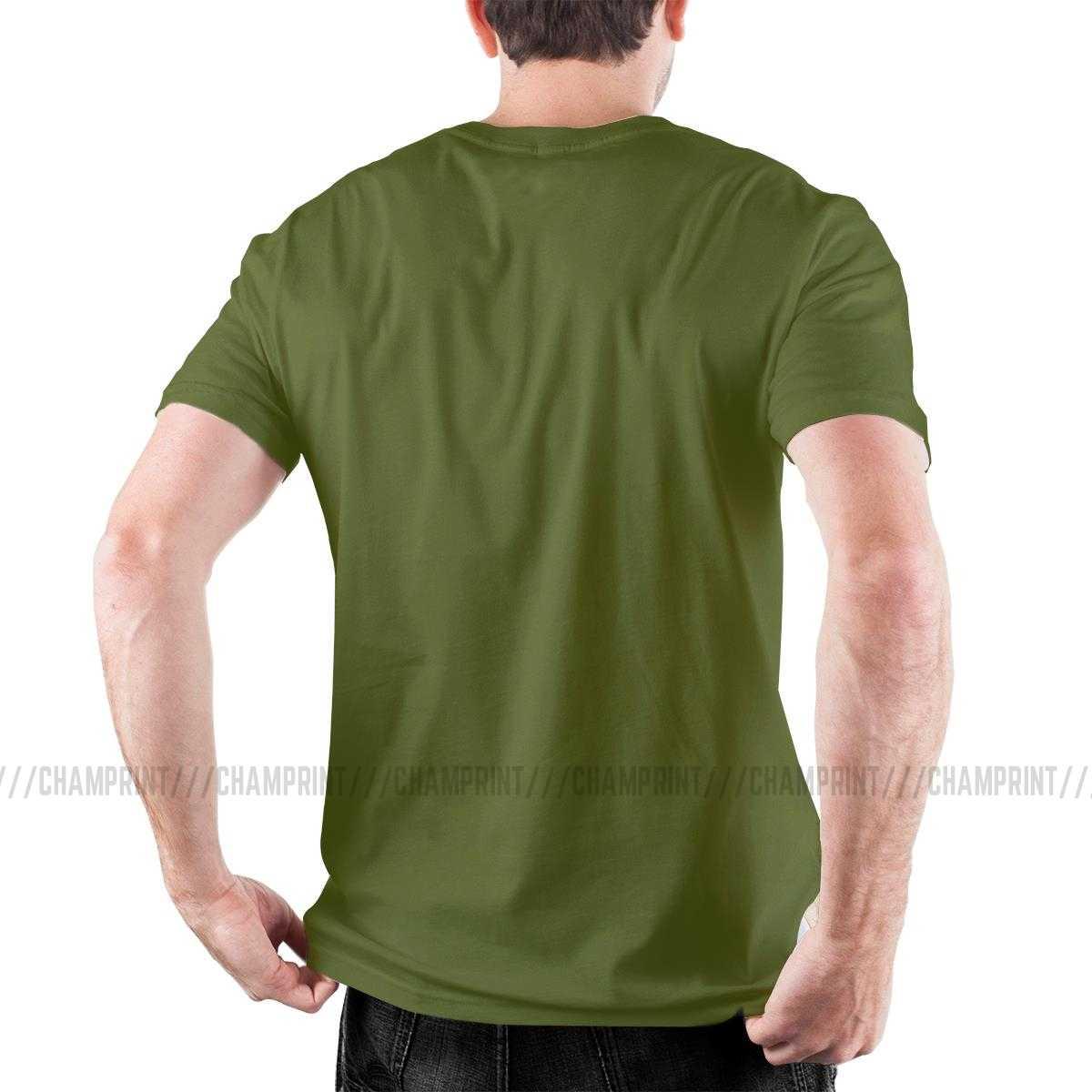 Geist Strand Gänsehaut T-Shirts für Männer Haunted Halloween Monster Buch Film Comic Super Baumwolle Tees Kurzarm T Hemd