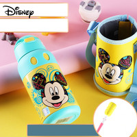 Disney stainless steel cup children travel with straw dual use insulation cup fashion baby cup