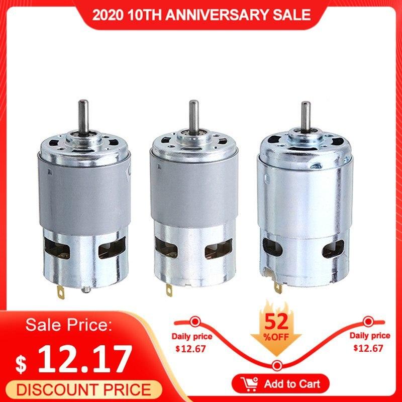 775/ 795 /895 Gear Motor/Motor Bracket DC 12V-24V 3000-12000RPM Motor Large Torque Gear Motor Pakistan