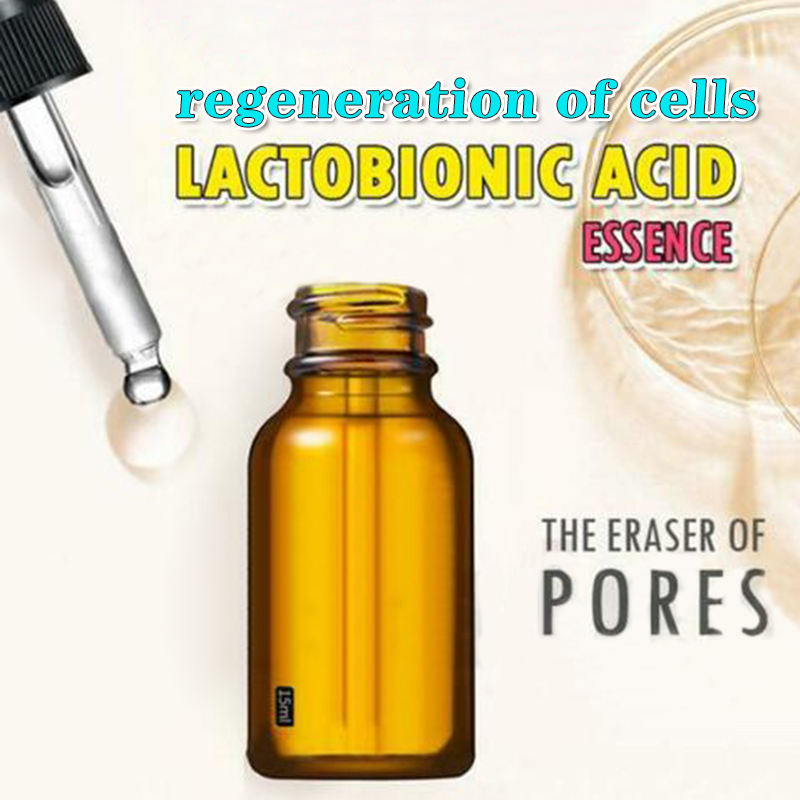 Lactobionic Acid Essence Soften Remove Blackheads Whiteheads Acne Fine Pores Skin Facial Essence MH88