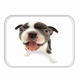 Image 3 - 1 40*60cm 귀여운 동물 패턴 미끄럼 방지 동물 플란넬 두꺼운 카펫 도어 매트 주방 미끄럼 방지 매트 야외 거실 바닥 매트