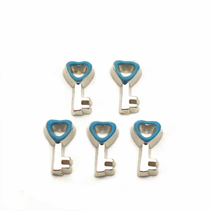 Baru Tiba 12 Pcs/Banyak Produk Charms Gantungan Kunci Mengambang Pesona untuk Floating Memori Pesona Liontin DIY Perhiasan