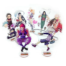 Anime Cartoon HUNTER X HUNTER Killua Zoldyck Acryl Stand Figuur Bureau Speelgoed Gift Halloween Cosplay Auto Stand Figuur(China)