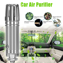 цена на 12V DC Car Air Purifier Ionizer Air Cleaner Ionic Air Freshener and Odor Eliminator Remove Smoking Smell Purifier Diffuser