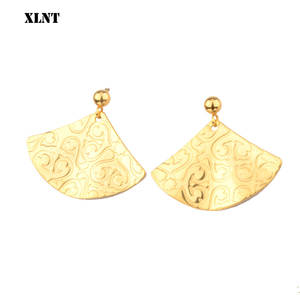 Vintage Earrings Geometric Fashion Jewelry Women XLNT Metal for Statement Gold Pendant