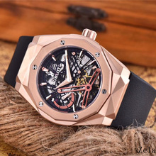 HUBLOT Luxury Brand quartz Mens Watches Mechanical Wristwatches Stainless Steel