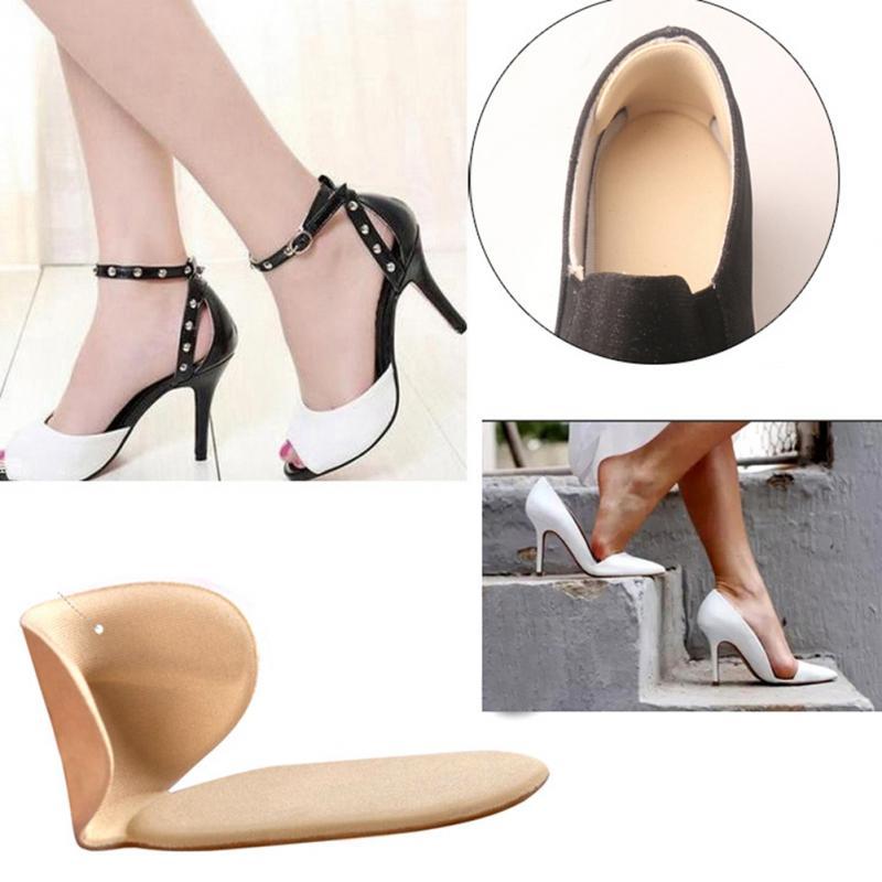 2PC/Set High Heels Sandals Back Sticker Leather Heel Stick Leather Wear Insoles Heel Pad Wear Prevention Sticker Ladies