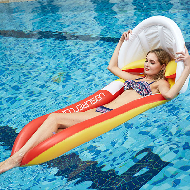 Inflatable Mattres Sunbathing Lounger Inflatable Pool Mat Lounge Chair Floats For Swimming Pool Float Mattress Inflatable Water