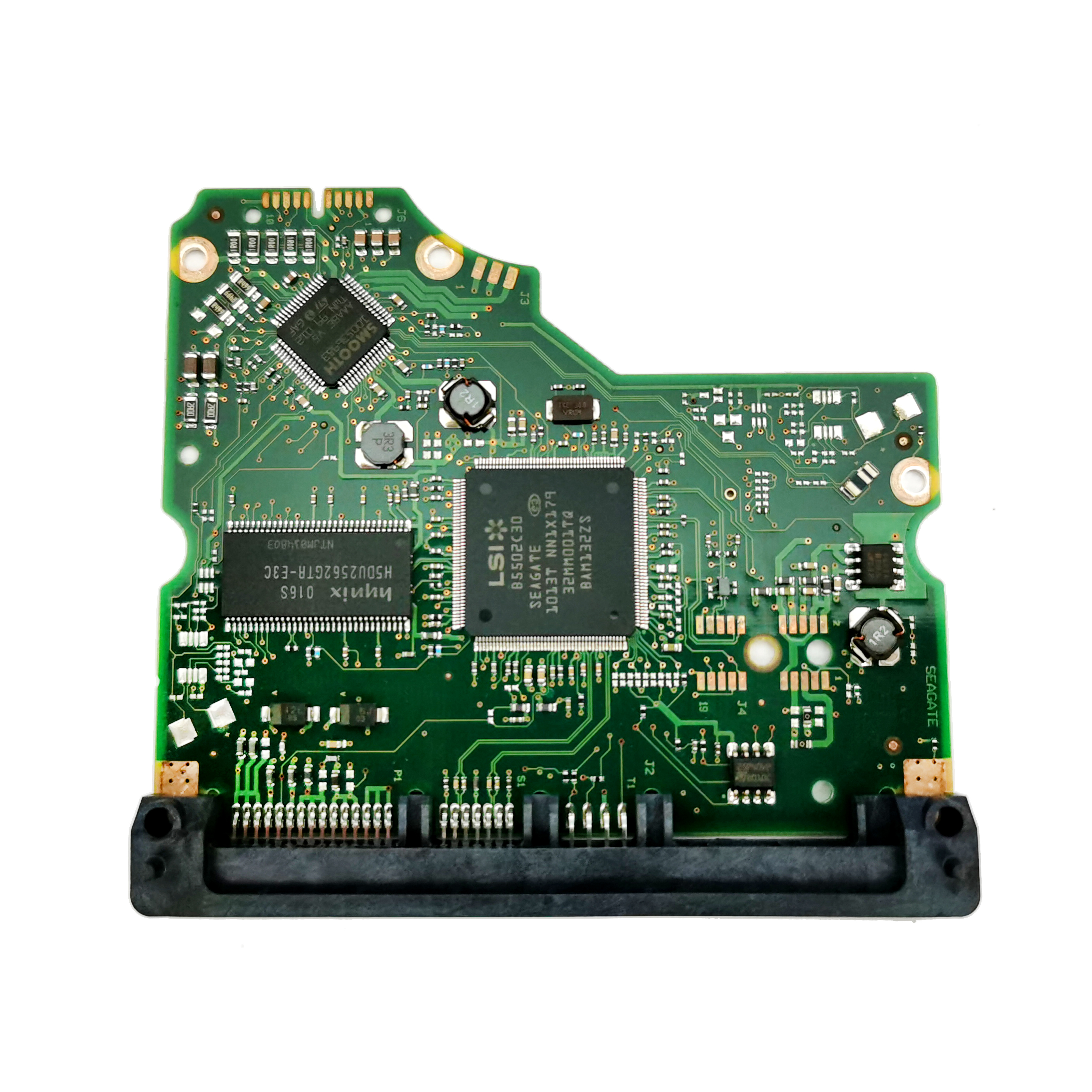 100% Original Hard Drive Parts PCB Logic Board Printed Circuit Board 100536501 For Seagate 3.5 SATA Hdd Data Recovery Hard Drive