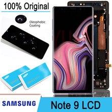 Original 6.4 amamamoled display lcd + touch screen digitador assembléia para samsung galaxy note 9 note9 n960d n960f peças de reparo