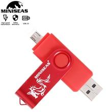OTG Usb flash sürücü bellek sopa çift uygulama 32GB pendrive kalem sürücü mikro 16GB usb bellek depolama cihazları