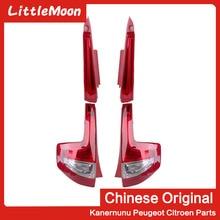 LittleMoon الأصلي العلامة التجارية الجديدة الخلفية الضوء الخلفي الجمعية LED الخلفية الذيل ضوء لسيتروين C4 5 أبواب C quatre سيتروين c4 هاتش