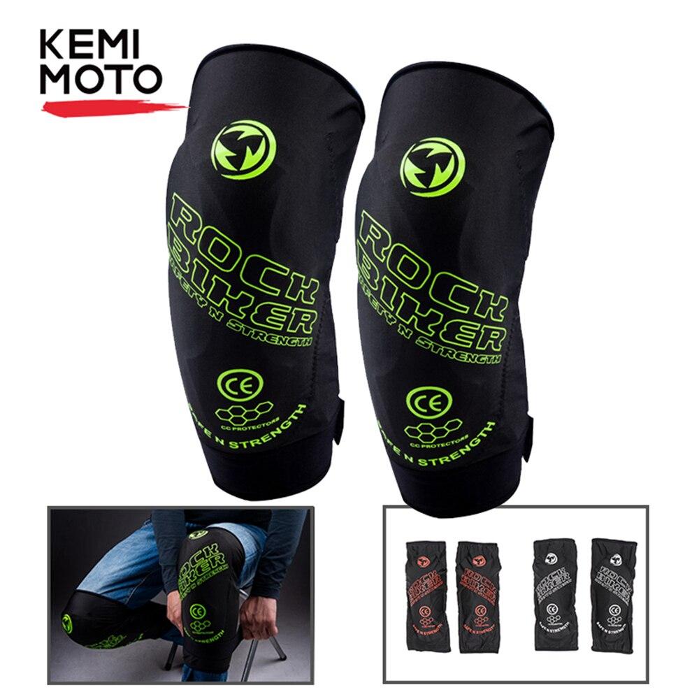 KEMiMOTO Motorrad Knie Protector Soft Knee Pads Schutz Guards Moto Knie Brace Unterstützung MTB Ski Schutz Getriebe Schwarz