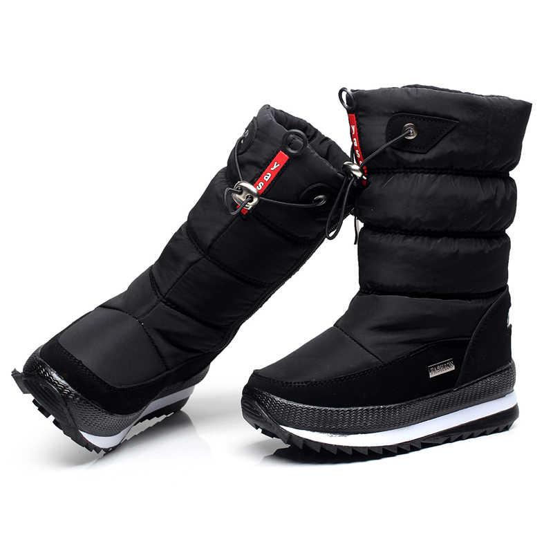-30 graden 2019 winter meisjes winter laarzen Waterdicht meisje laarzen kinderen laarzen Snowboots warm Kinderen schoenen kids wellies jongens