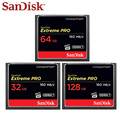 SanDisk Extreme Pro CF Memory Card 32GB 64GB 128GB Compact Flash Card UDMA 7 High Speed CF Card 160MB/s For HD Camera