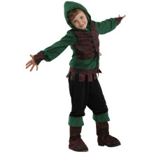 Kids Jongen Carnaval Purim Peter Pan Kostuum Robin Hood Bos Knight Hunter Cosplay Halloween Show Party Fancy Dress(China)