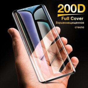 Image 5 - 200D Tam Kavisli Temperli Cam Samsung Galaxy S9 S8 Artı Not 9 8 Ekran Koruyucu Samsung S7 S6 kenar S9 koruyucu film