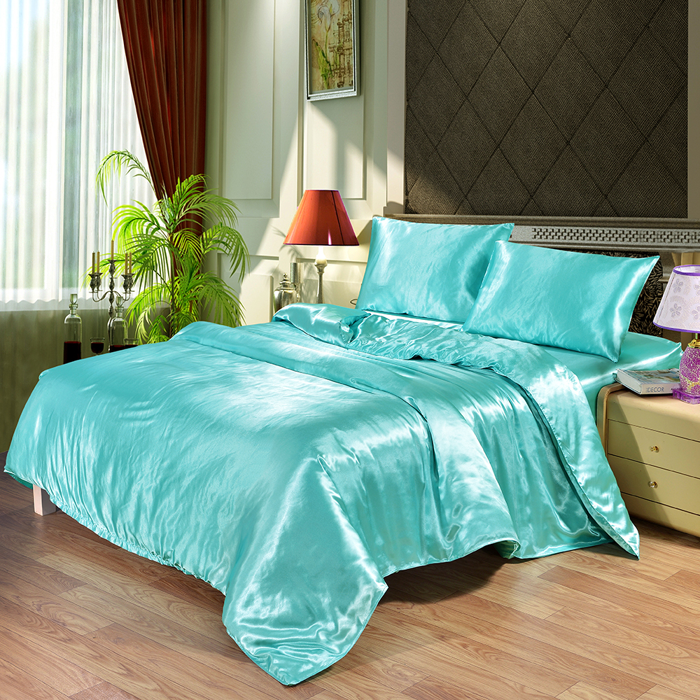 Satin Silk Luxury Bedding Set Best Children's Lighting & Home Decor Online Store