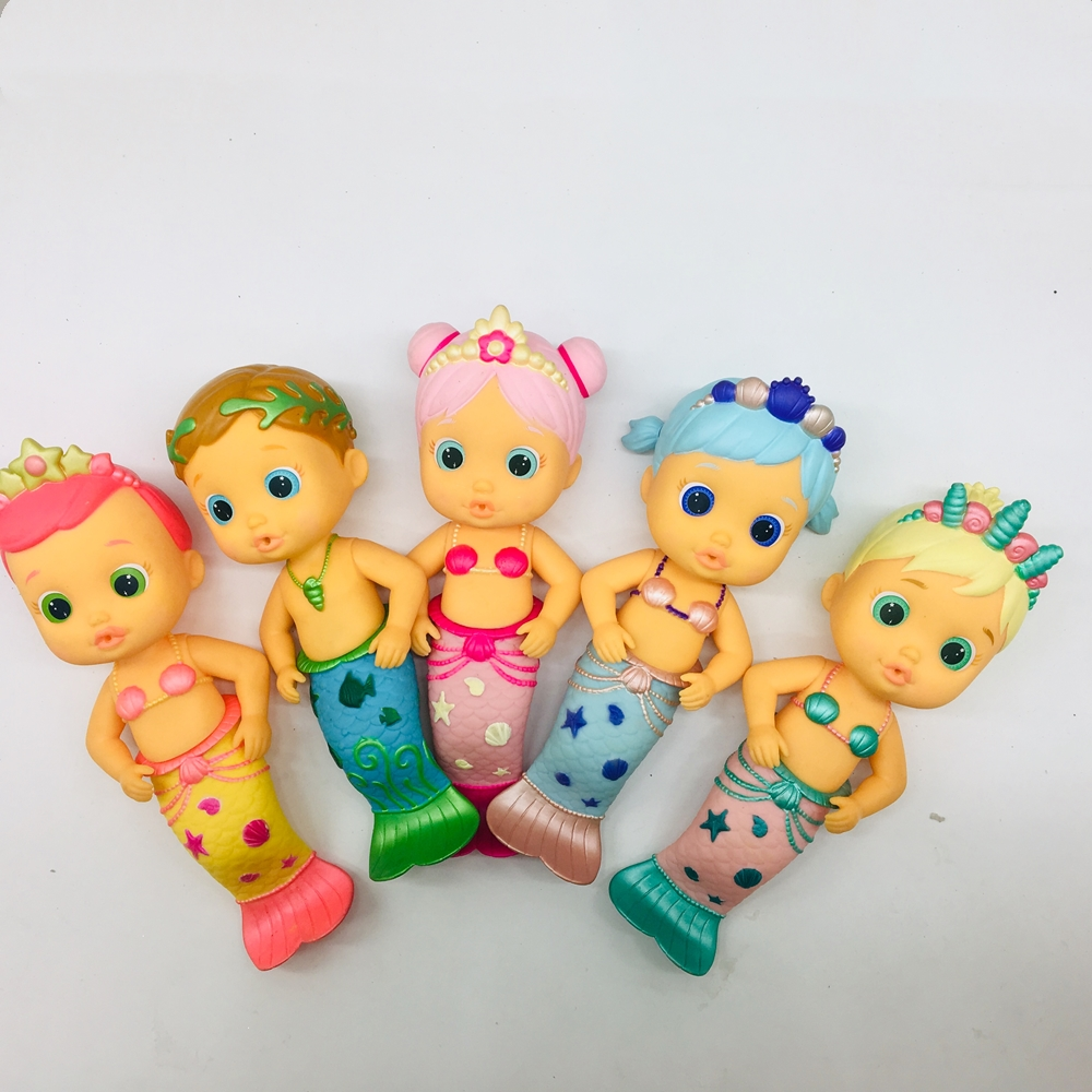 Cry Mermaid Babies Dolls To Baby Boy Girls Toys Children Doll It Will Shed Tears When You Water As Birthday Gifts For Children