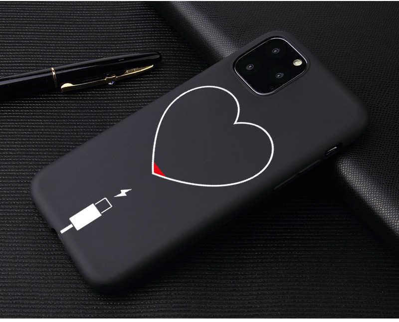 Dziewczyna kochanek ciała róża miękkie etui do iphone 7 8 Plus X XS Max XR Coque etui do iphone 5 5s SE 6 6s Plus 11 pro telefon okładka para