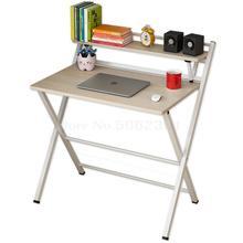 Компьютеризированный рабочий стол, простой складной стол, письменный стол, спальня, студенческий стол, простой современный домашний маленький стол