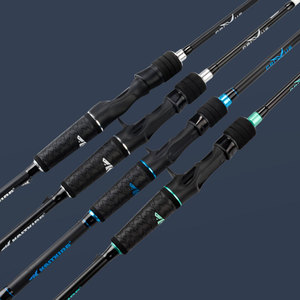 Image 5 - KastKing Crixus Ultralight 30 Ton Carbon Fiber Casting Spinning Fishing Rod with SiC Ceramic Guide Rings SuperPolymer Handle
