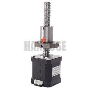 Image 3 - 3pcs 17HS8401S SFU1204 1.8A 52N.CM  Nema17 Stepper Motor   4 lead L100/200/300mm for 3D printer CNC Nema 17 ballscrew motor