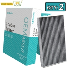 2x Car Pollen Cabin Air Filter B7891-1FC0A 27891-1FC0A For Nissan Cube Z12 Leaf ZE0 2013 2014 2015 2016 2017