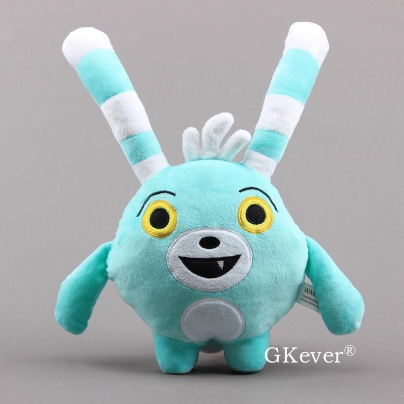 20cm Abby Hatcher Bozzly Bunny Plush Doll Toys Anime Figure Lovely Blue Rabbit Stuffed Animals Children Kids Birthday Gift