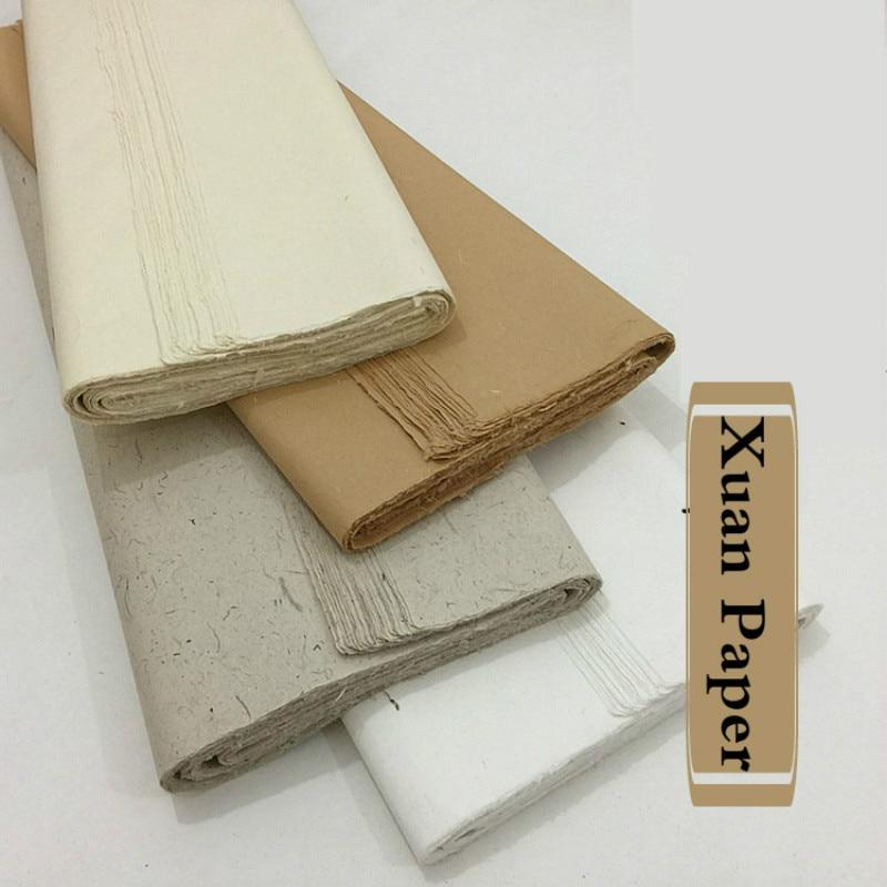 Painting Rice Paper Decoupage Chinese Half-Ripe Yun Long Xuan Paper Plant Fiber Xuan Paper Fiber Rijstpapier Papel Arroz