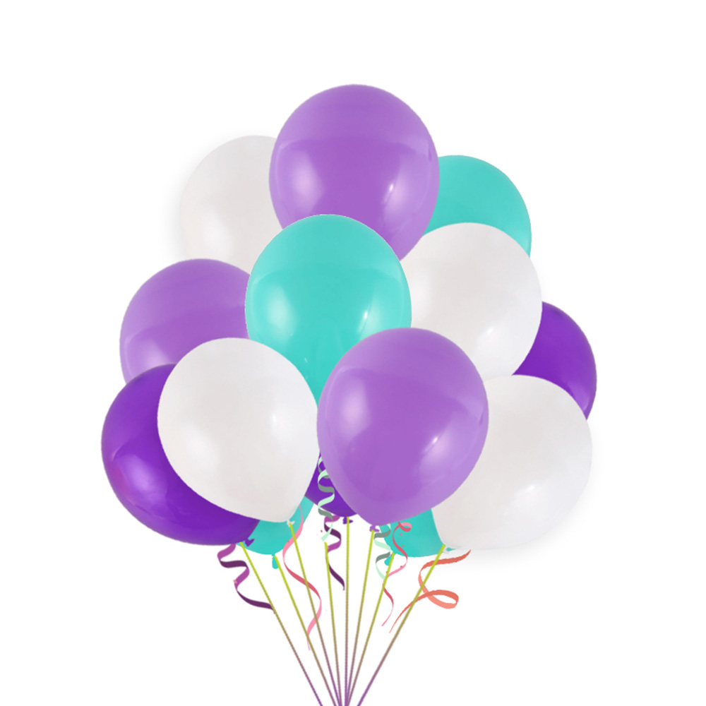 Mermaid theme birthday party Aluminum film Balloon set Photography bedroom Fringed Atmosphere decoration kids room decoration in Ballons Accessories from Home Garden