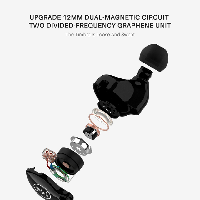 TFZ S2 In Ear Earphone Hifi Wired Earbuds DJ Dynamic Driver Transparent Bass Headset With 0.78 2PIN Cable 4