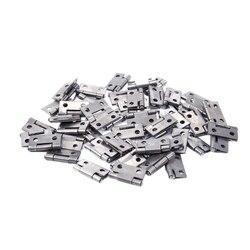 Metalowe składane obracanie Drzwi do szafki zawias 1 cal 50 sztuk w Zawiasy drzwiowe od Majsterkowanie na