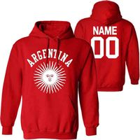 ARGENTINA male pullover custom name number ARG country gyms sweatshirt ar flag spanish argentine nation print text clothes